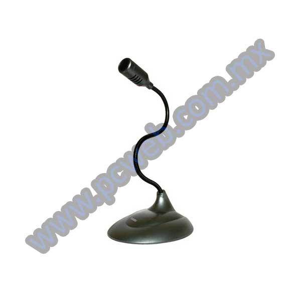 MICROFONO FLEXIBLE DE ESCRITORIO PERFECT CHOICE PC-110279