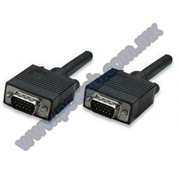 CABLE VGA PARA MONITOR 4.5 MTS MANHATTAN 312721