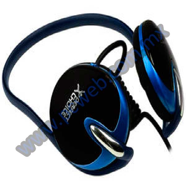 AUDIFONOS CON BANDA PARA CUELLO PERFECT CHOICE PC-110309