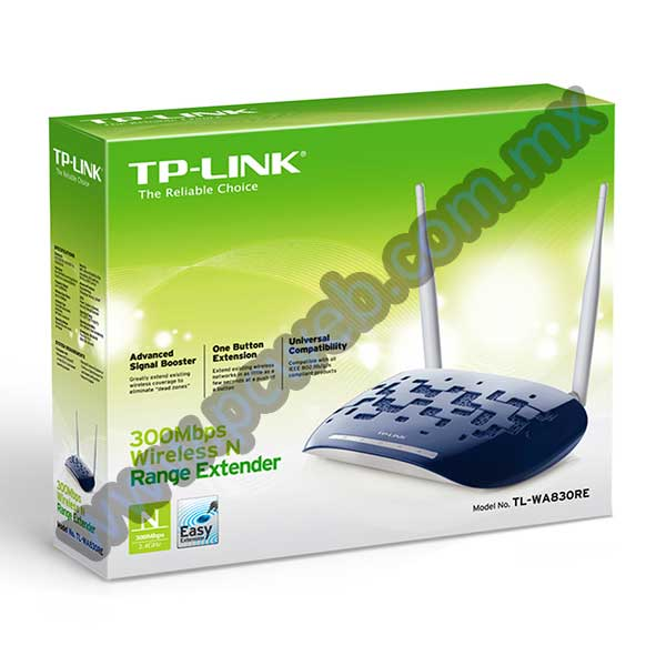 REPETIDOR TP-LINK TL-WA830RE